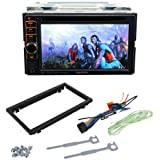 """Kenwood DDX319 6.1"""" WVGA double-DIN Navigation-ready/DVD Receiver, Front USB for iPhone/iPod and Android as Mass storage device, Pandora App Ready for iPhone , SiriusXM Ready"""