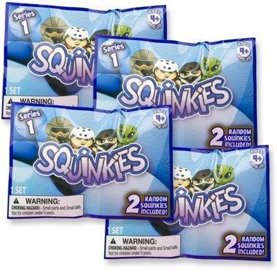 Squinkies Boys Minifigures Series 1 - (2) Random Squinkies - 1