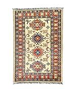 Eden Carpets Alfombra Ghazni B Rojo/Beige 158 x 106 cm
