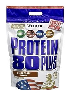 Weider Protein 80 Plus, Schokolade, 2kg Beutel