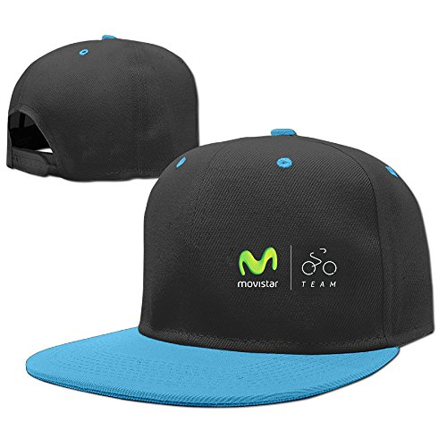 movistar-team-pedro-delgado-cycling-girls-classic-hip-hop-personalized-hats-caps