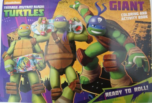 Teenage Mutant Ninja Turtles Giant Coloring and Activity Book - 1