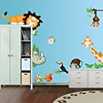 Cute Animal Wall Sticker DIY Removabl...