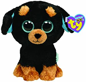 Amazon.com: Ty Beanie Boos Tuffy Rottweiler: Toys & Games