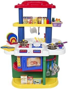 Deluxe Children Kitchen Cooking Play Set