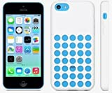 Slim Silicone Soft Case Cover for Apple Iphone 5c 6 Colors (White)
