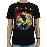 Rainbow - Rising Band T-Shirt, schwarz