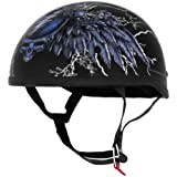 River Road Mens Grateful Dead Steal Your Face Storm Half Helmet 2013