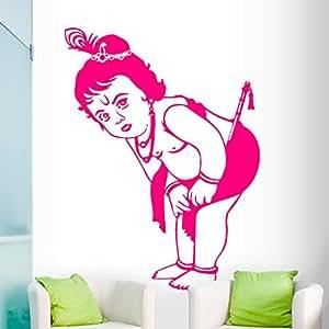 DeStudio Krishna Flip Chalkboard Wall Decal, Size XXX Large & Color : PINK