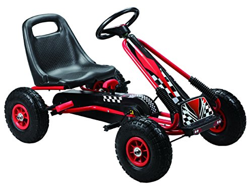 Vroom-Rider-Racing-Pedal-Go-Kart-Ride-Ons-with-Pneumatic-Tire-Black