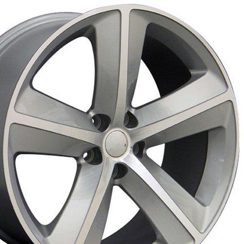 20x9 Wheel Fits Dodge - Challenger SRT Style Silver Rim (07 300c Rims compare prices)