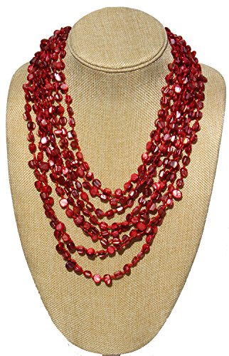 20-Multi-Strand-Shell-Necklace-A-statement-Piece