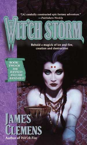 Wit'ch Storm (The Banned and the Banished #2)