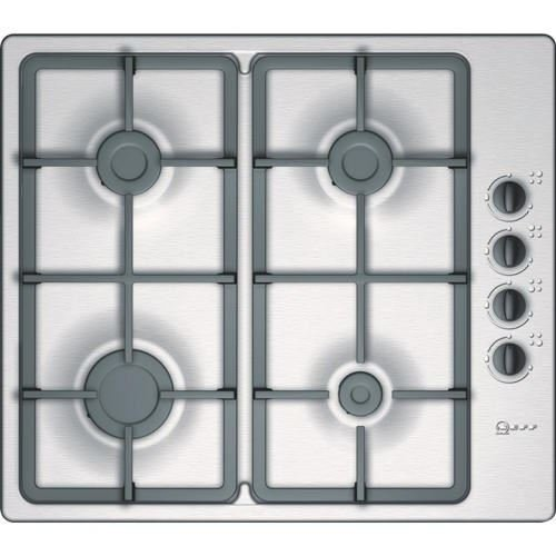 Neff T21S36N1 Series 1 Four Burner Gas Hob in Stainless Steel - Z 571491