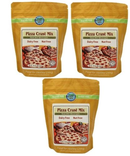 Authentic Foods Pizza Crust Mix 1.25lb 3 Pack