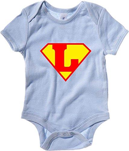 T-Shirtshock - Body neonato T0662 L SUPERMAN fun cool geek, Taglia 3-6mesi