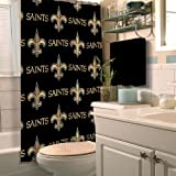 Northwest NOR-1NFL903000021RET New Orleans Saints NFL Shower Curtain