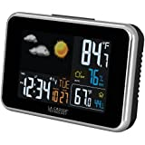 La Crosse Technology 308-145B Wireless Color Weather Station with USB Charge port, Black