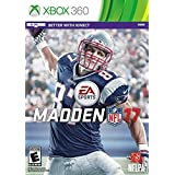 MADDEN NFL 17 * XBOX 360 * BRAND NEW FACTORY SEALED!