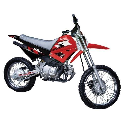 Amazon.com: Baja Motorsports DR90 Dirt Runner 90 Dirt Bike (Red)