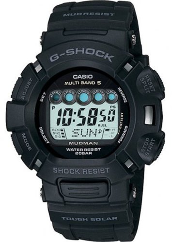 Casio Men's G-Shock Mudman Solar Atomic Watch #GW9000A-1