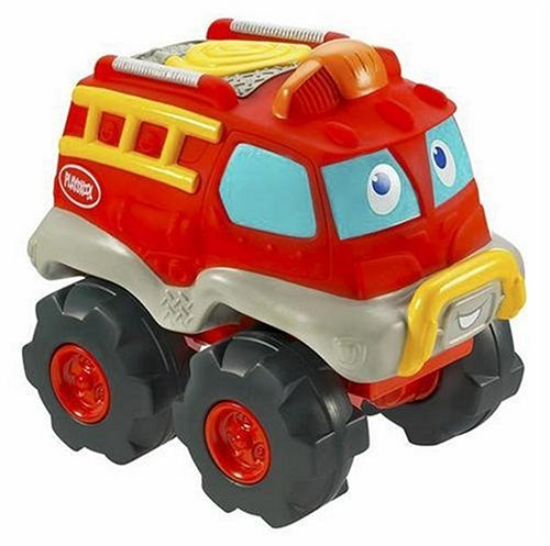 Playskool Cushy Cruisin Fire Truck