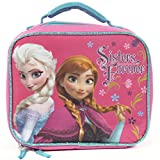 Frozen Anna Elsa Sisters Forever Reusable Insulated Lunch Bag