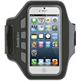 Belkin F8W105vfC00 Brassard Lycra et néoprène Noir, pour iPhone 5 et iPhone 5S