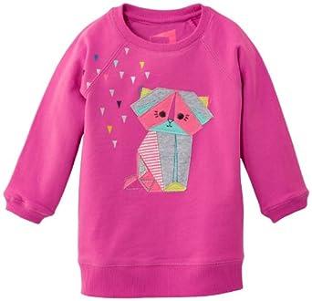 Name It Etla - Sweat-shirt - Fille - Violet (Rose Violet) - FR: 12 mois (Taille fabricant: 80)