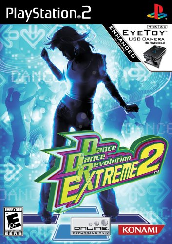 Dance Dance Revolution Extreme 2 - Playstation 2 front-778264