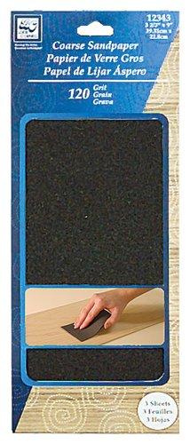 Loew Cornell, Sandpaper, Coarse, 3 Count - 1