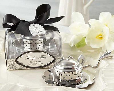 """Tea For Two"" Teapot Tea Infuser - Set Of 12"