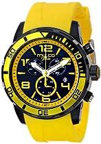 MULCO Unisex MW1-10186-092 Analog Display Swiss Quartz Yellow Watch