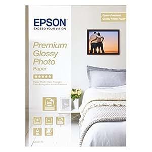 Epson Premium Glossy Photo Paper - Papier Photo Brillant A4 210 X 297 Mm - 15 Feuilles