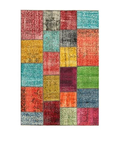 Design Community By Loomier Teppich Anatolian Patchwork mehrfarbig 200 x 300 cm