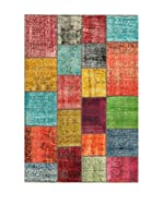 Design Community By Loomier Alfombra Anatolian Patchwork Multicolor 140 x 200 cm