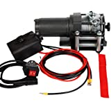 Timbertech� Electric Winch ESW12 1360 kg / 3000 lb 12V with Remote 800 Wattby Timbertech�