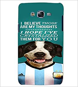 PrintDhaba Quote D-4671 Back Case Cover for SAMSUNG GALAXY J5 (Multi-Coloured)
