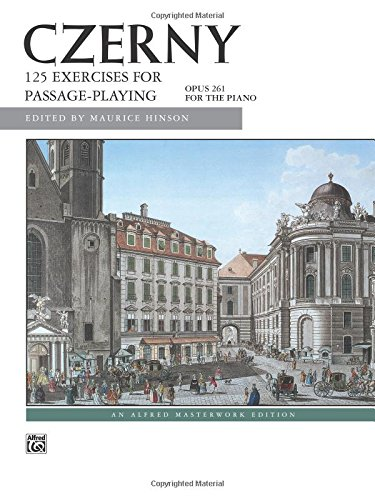 Czerny -- 125 Exercises for Passage Playing, Op. 261 (Alfred Masterwork Editions)