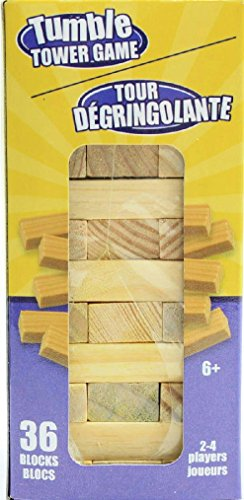 Block Tumble Tower Wooden Game - 1