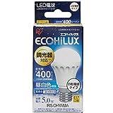 アイリスオーヤマ LED電球 調光器対応 E17口金 30W形相当 昼白色 下方向タイプ 密閉形器具対応 エコハイルクス LDA5NHE17DV1