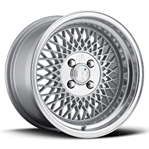 16 KLUTCH SL1 SILVER RIMS WHEELS 16×8 +15 5×114.3