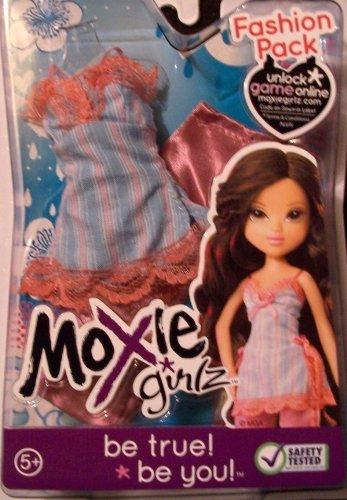 MOXIE GIRLZ FASHION PACK ORANGE PANTS & ORANGE/WHITE/BLUE SHIRT - 1