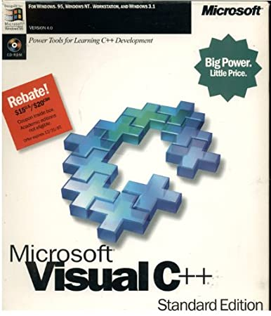 Microsoft Visual C++ Standard Edition - Version 4.0