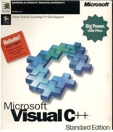 Microsoft Visual C++ Standard Edition - Version 4.0