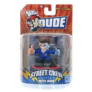 Tech Deck Dude Ridiculously Awesome Street Crew 054 Arnie