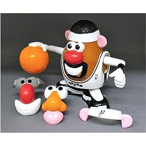 San Antonio Spurs NBA Sports-Spuds Mr. Potato Head Toy by JR Sports