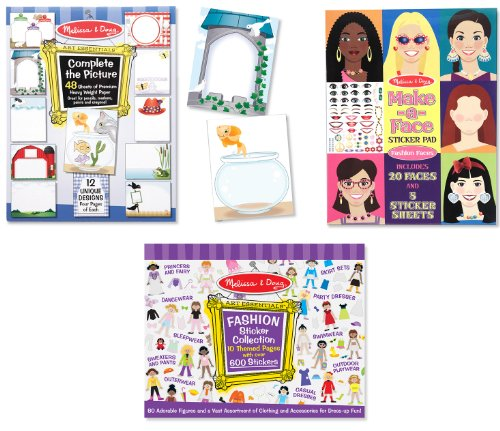 Melissa And Doug Sticker Book front-1049364
