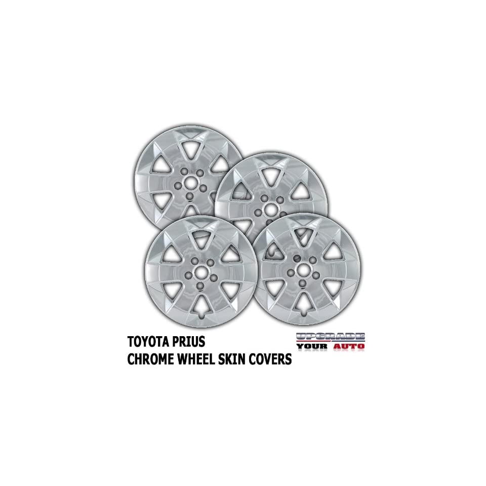 2005 2009 Toyota Prius 15 Chrome Wheel Skin Covers