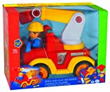 Megcos Build-And-Play Fire Engine -Affordable Gift for your Little One! Item #LMID-1292